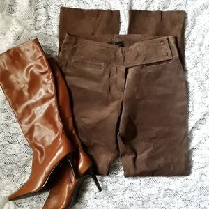 New Hugo Buscati Suede Leather Pants 8